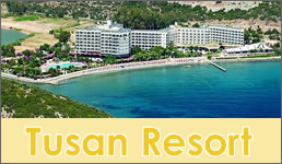 Kusadasi Hotels, Tusan Beach Resort Hotel
