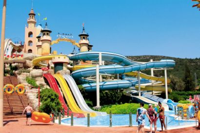 Aqua fantasy is a water wonderland of slides wave pools waterfalls