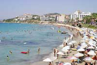 Beaches of Kusadasi