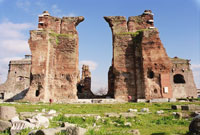 The Temple of Serapis - The Red Basilica - Pergamum